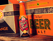 Orange Beer Salt Flavor Launch