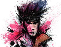 Gambit Illustration