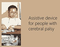 Assistive device for people with Cerebral Palsy