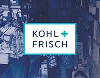 Kohl + Frisch: Rebranding