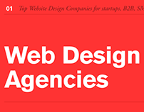 The Best Web Design Companies and Agencies