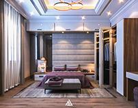Girl's Bedroom & Bathroom In private villa