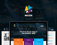 MUZIX - Event Website