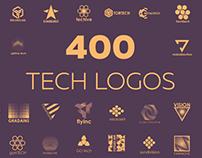 400 technological logos