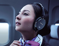 [JAPAN] Sony Noise Canceling Headphone promotion