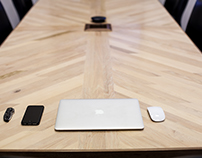 West End Reclaimed Conference Table