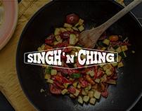Singh 'N' Ching (Restaurant Branding)
