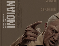 INDIAN 2 poster 2