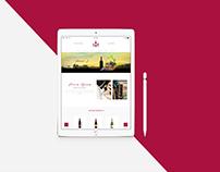 Wine Take Out - Web Design