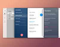 018. Week - Notes app