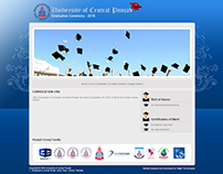 Project of UCP - Convocation Design / html - css