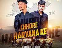 CHHORE HARYANA KE - Publicity Design