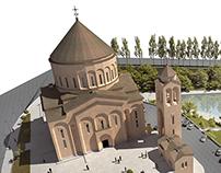 Church   Arabkir District, Yerevan, Armenia