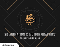 Animación 2D & Motion Graphics