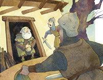 Illustration Book Robin Hood