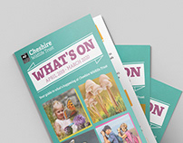 """What's On"" Events Guide for Cheshire Wildlife Trust"