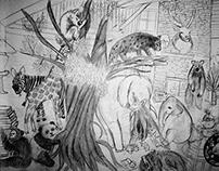 Drawing - Harmonies