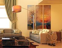 Harmonic living room