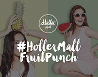 #HollerMallFruitPunch