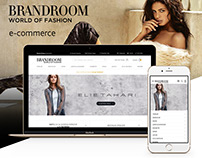 Brandroom E-Commerce Website - 2015 [RND]