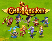 Character animation for games Castle Kingdom