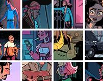 Music Comics Scenes
