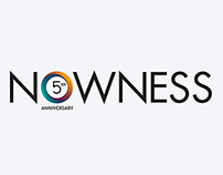 NOWNESS 5-th anniversary - logo