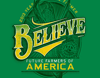 T-shirt screeprint designs for the FFA
