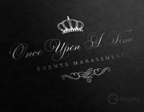 Once Upon A Time Event and Wedding Planning Logotype
