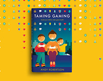 Taming Gaming book cover illustration