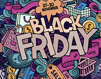 Black Friday in my shop on Creative Market!!!