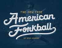 American Forkball Font