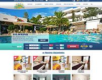 San Miguel Park Apartments mockup, Ibiza