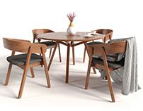 Cosmorelax dining set