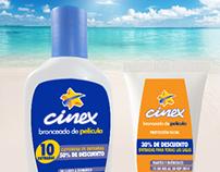 Cinex - Various Magazine Ads