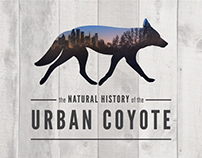 Branding for The Natural History of the Urban Coyote