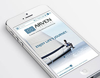 Arven Financial Logo + Website