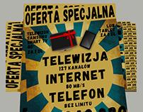 Projekt ulotki i plakatu. Wałbrzych. 2015 //