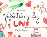 Valentine's Day love collection