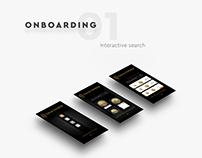 Gold Finder - Product Design Concept iOS App