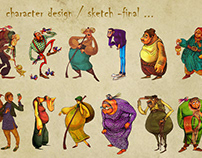 character design 2018 (drawing steps 😊)