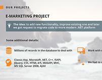 E-marketing Project