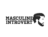 Masculine Introvert Logo Entry (99designs)