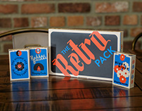 The Retro Pack: Decade-Themed Playing Cards
