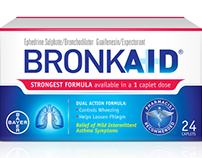 Bronkaid - Website Copy & Banners