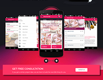 Beauty and Fashion Services | Web Page Design