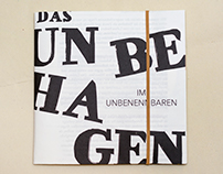 Unbehagen | Uneasiness