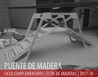 2017.10_Estructuras de Maderas_Puente de Madera