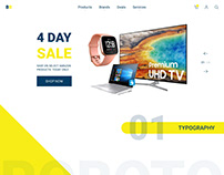 BestBuy.com Homepage Redesign