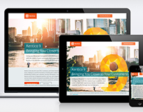 Kentico 9 Release landing pages